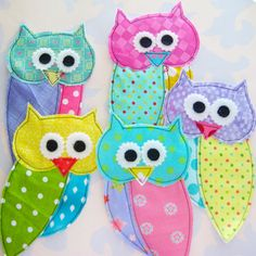 Owl Appliques