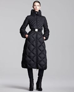 Extra Long Puffer Coats | long-diamond-quilted-belted-puffer-coat-in-south-africa