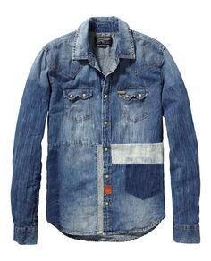 Customized sawtooth shirt - Scotch & Soda
