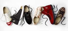 Charlotte Olympia's new printed sneakers