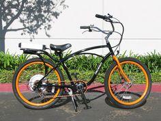 SF Giants themed Pedego Electric Bike Classic Cruiser #giants #sfgiants