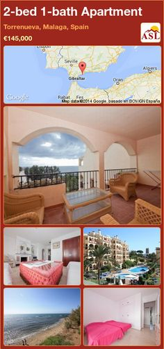 2-bed 1-bath Apartment in Torrenueva, Malaga, Spain ►€145,000 #PropertyForSaleInSpain