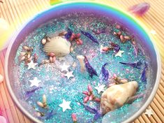 shop: Mermaid sea witch altar candle vegan glitter sacred space scented handmade candle goddess blue herb candle Excited to share the latest addition to my Diy Candles Scented, Homemade Candles, Mason Jar Candles, Soy Candles, Candle Spells, Wiccan Spells, Candle Magic, Candle Making Business, Vegan Candles
