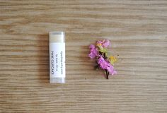 Pink Cupcake Lip Balm - Sweet Almond Oil, Jojoba Oil, Beeswax on Etsy, $4.00