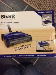 carpet and floor sweepers shark cordless floor and carpet sweeper replacement battery xb2950 fits u003e buy it now only on ebay - Shark Sweepers