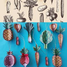 Dont forget to eat your 5 fruits and vegetables today! 😉 Here is a edgy bauble family reunion to wish you a happy Thursday! Paper Decorations, Christmas Decorations, Christmas Tree, Happy Thursday, Diy Paper, Bauble, Vegetables, Forget, Glitter