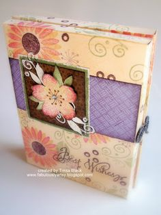 Fabulously Artsy: Card Box Tutorial - Christmas workshop candidate??