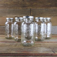 Ball 1/2 Gallon Canning Jar - Case of 6 Large Jars - Canning Equipment