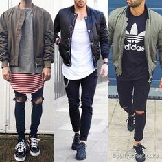 What is your favorite bomber look? 1, 2 or 3?