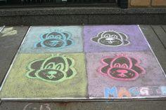Art Chalk Art, Art Festival, Buffalo, Kids Rugs, Home Decor, Decoration Home, Kid Friendly Rugs, Room Decor, Water Buffalo