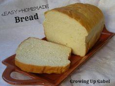 Easy Homemade Bread: Growing Up Gabel