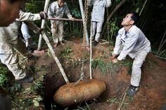Bombe à sous-munitions Laos