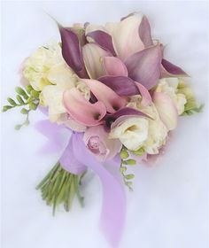 Calla Lilies Wedding Flowers Bridal Bouquet