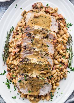 Rosemary Garlic Pork Roast