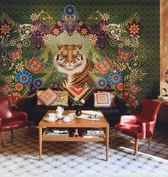 Wallpaper Tiger by Catalina Estrada