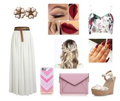 """""""angle"""" by poppy-896 ❤ liked on Polyvore featuring moda, Rebecca Minkoff, Casetify i Chanel"""