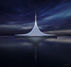 Oltre 60 metri di altezza e un design futuristico per sfidare le onde. ''Star'' è il superyacht privato che ''nasconde'' oltre 3500 metri quadri di spazio interno con 36 posti letto e una capienza fino a 200 ospiti. Lo yacht, che vanta anche otto ponti e un eliporto, può raggiungere un