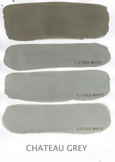 'Chateau Grey', Annie Sloan Chalk Paint.