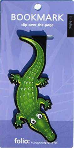 Alligator Bookmarks (Clip-over-the-page) Set of 2 - Assor... https://www.amazon.com/dp/1578506115/ref=cm_sw_r_pi_dp_x_gQYizbBDWK35C