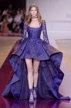 Zuhair Murad, haute couture A-H - L'officiel de la mode Evening Dress Long, Evening Dresses, Couture Fashion, Runway Fashion, Paris Fashion, Couture Dresses, Fashion Dresses, Short Dresses, Prom Dresses