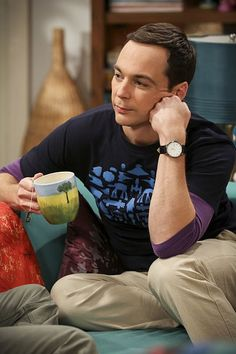 """""""The Cohabitation Experimentation"""" -- Pictured: Sheldon Cooper (Jim Parsons). When Amy's apartment floods, she proposes a """"cohabitation experiment"""" with Sheldon. Also, Howard and Bernadette are upset when Koothrappali learns the gender of the baby before them, on THE BIG BANG THEORY, Monday, Oct. 10 (8:00-8:31 PM, ET/PT), on the CBS Television Network. Photo: Michael Yarish/Warner Bros. Entertainment Inc. © 2016 WBEI. All rights reserved."""