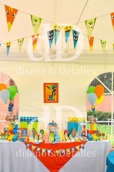 fiesta temática mesa de dulces infantil bajoterra 4th Birthday, Birthday Cake, Fiesta Party, Paw Patrol, Party Planning, Kids, Moana, Event Ideas, Parties