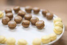 Idas makroner med lemoncurd og makroner med sjokoladeganache og salt karamell