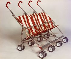 A Brief History of the Double Stroller Pram Stroller, Baby Strollers, Mothercare Prams, Best Prams, Triplet Babies, Vintage Pram, Prams And Pushchairs, Baby Buggy, Dolls Prams