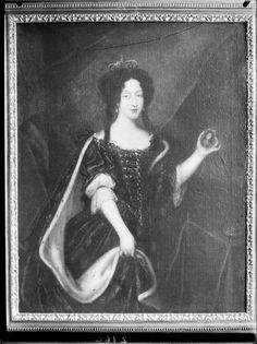 Mª Luisa de Orleans. Retrato con ocasión de su boda por poderes