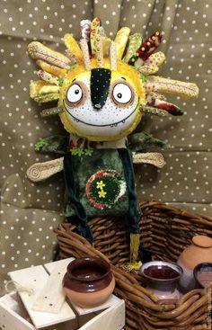 Купить Солнечная Бузя - желтый, зеленый, первоцвет, весенний подарок, дух, дух весны