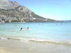 Plaża w Omiš  #chorwacja #croatia