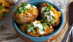 Weer een lekkerreceptuit deKoken met Aanbiedingenapp: Mexicaanse gevulde zoete aardappel. Heb jij deappal gedownload op je…