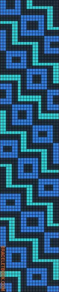 Patrón Mochila Wayúu Melty Bead Patterns, Pearler Bead Patterns, Beading Patterns, Crochet Belt, Free Crochet Bag, Tapestry Bag, Tapestry Crochet, Wiggly Crochet, Motif Fair Isle
