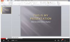 Here is How to Add Audio Narration to Your PowerPoint Presentations ~ Educational Technology and Mobile Learning