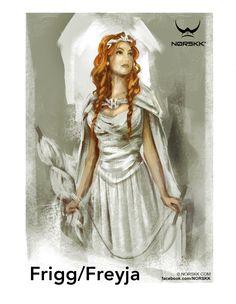 Ásynjur: Frigg: Goddess of Motherhood Vanir: Freyja: Goddess of Love and Fertility