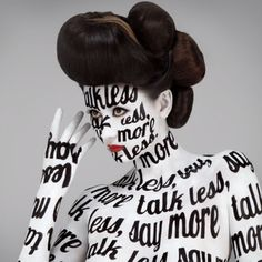 Body word art