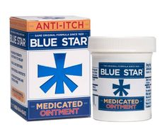 Blue Star Ointment For Ringworm Itching - 2 Oz 368429201027 First Aid Treatment, Itch Relief, Star K, Medical Information, Jaba, All In One, The Cure, Packing, Blue