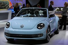 LA Auto Show | The 2013 Volkswagon Beetle Convertible  was debuted at the #LAAS