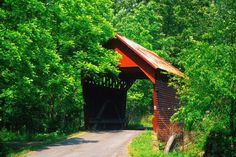 Laurel Creek Covered Bridge-AKA-(Lillydale)- Laurel Creek Covered Bridgeis a historiccovered bridgelocated nearLillydale,Monroe County, West Virginia. It was built in 1910. The shortest covered bridge in the state,[2]it measures 34 feet, 6inches long and 13 feet, 2 1/2inches wide. It has wood siding painted red and a galvanized metal roof. As of 1981, it was one of only 17 covered bridges left in West Virginia.[3]  It was listed on theNational Register of Historic Placesin…