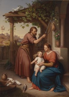 JULIUS FRANK - The holy family