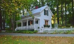 700 Sq. Ft. Historic Cottage.  Click on the picture to see the inside.  Quite spacious.