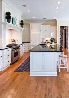 #Kitchen Idea of the Day: Traditional White Kitchens - Gallery.