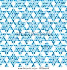 Traditional oriental tangled pattern. Seamless vector background. Plain colors - easy to recolor. - stock vector