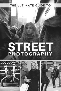 The Ultimate Guide to Street Photography, another very good post by the group of writers at the digital-photography-school. This is one of the most comprehensive articles they've written on SP and I hope you enjoy it as much as I did! Street Photography Tips, Photography Articles, Photography Challenge, Photography Lessons, Photography Editing, Urban Photography, Book Photography, Photography Business, Photography Tutorials