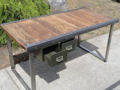 Resultado de imagem para industrial furniture