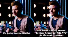 KLAINE going back to NYC