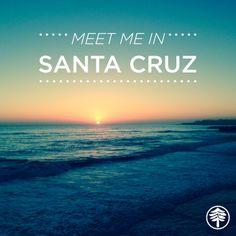 Meet me in Santa Cruz! #santacruz #california #beach #sunset