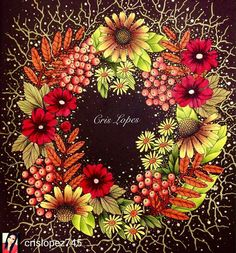 @Regrann_App from @crislopez745 -  Blomster Mandala  Maria Trolle Lápis Staedtler Aquarelável #blomstermandala #staedtlermars #mariatrolle #staedtler #colorpensil #fabercastell #kohinoor #kumbrasil #kum #giotto #coloringbook #coloring #coloringforadults #flowers #regrann 👉#wonderfulcoloring