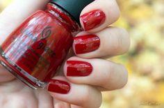 China Glaze - Masai Red — Отзывы о косметике — Косметиста