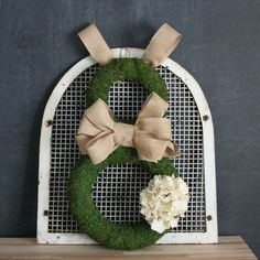 I'm going to preface this post by saying that this is the cutest but messiest wreath I've ever made! Mess aside, I'm absolutely in love with this Moss and Burlap Easter Bunny Wreath! Supplies: - One 10″ and one 14″ straw wreath - Moss Rolls ( I got them at Hobby Lobby and it takes …